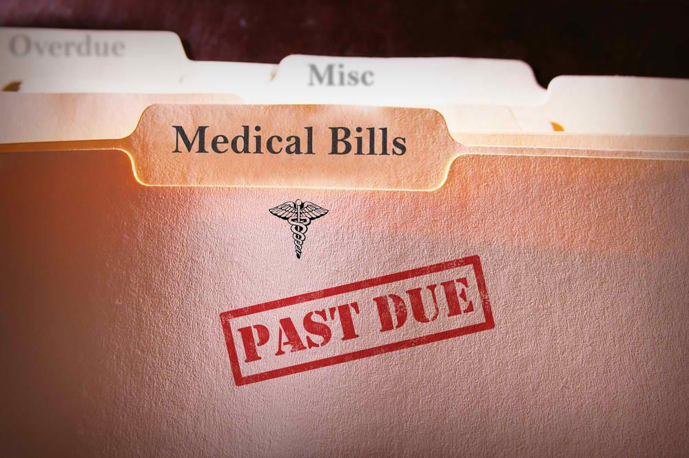 medical bills past due