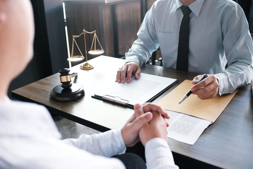 attorney helping you