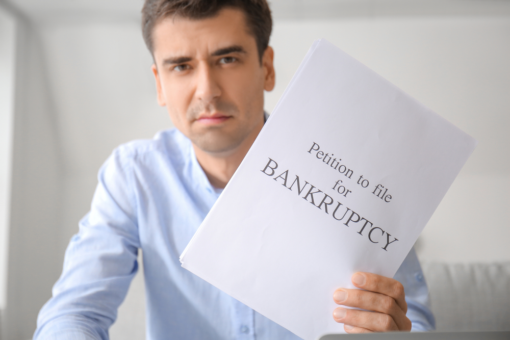 filing a bankruptcy due to covid